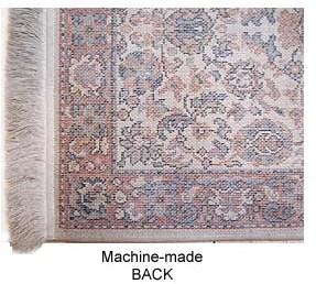 machine made rug back